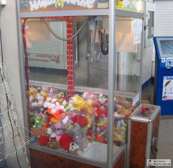 Игровых автомат доставать игрушки