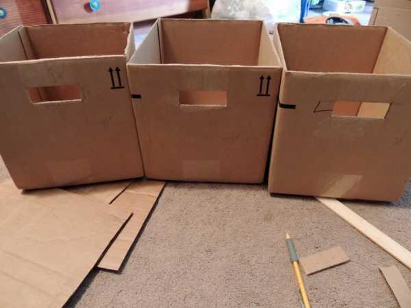 2807aea66d8f Самый доступный способ изготовления контейнера для хранения игрушек своими  руками — из картонной коробки. Лучше, чтобы такая коробка была плотная и  прочная, ...
