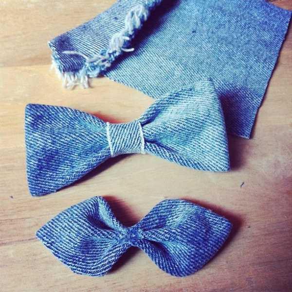 5aa4d20019a6 1. Бабочки. Бабочки — стильный аксессуар, актуальный как для мужчин, так и  для девушек. Из одной пары старых джинсов можно сделать целую дюжину  различных ...