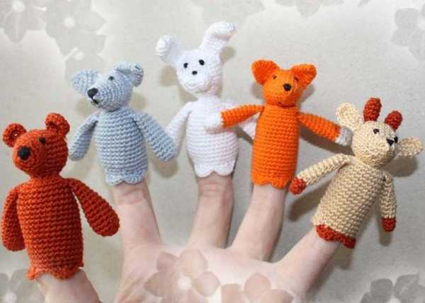 игрушки на пальчики своими руками