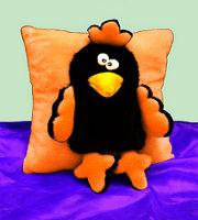 ворона-подушка
